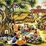 Bước chào Chợ làng của Lê Huy Khôi